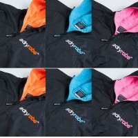 DryRobe Advance Orange, Blue and Pink