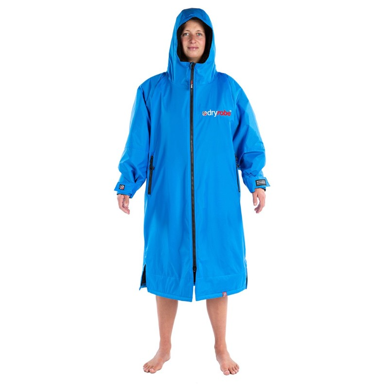 Person in Cobolt Dryrobe