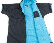DryRobe Black Blue open