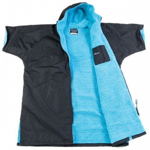 DryRobe Black Blue open