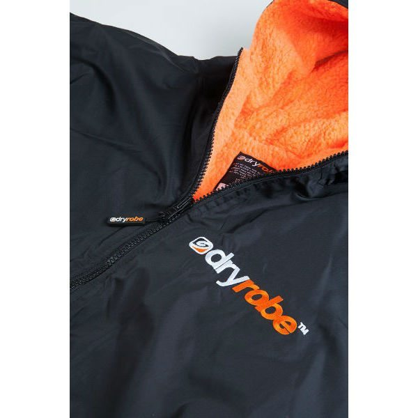 DryRobe Swimming Robe, Orange Lining