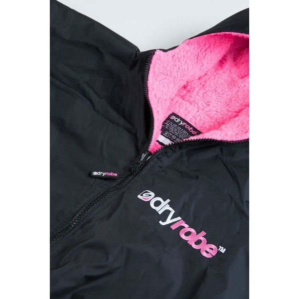 DryRobe Swimming Robe, Pink Lining