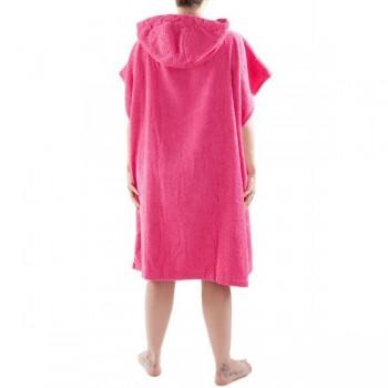 Pink DryRobe Swimming Changing Towel rear