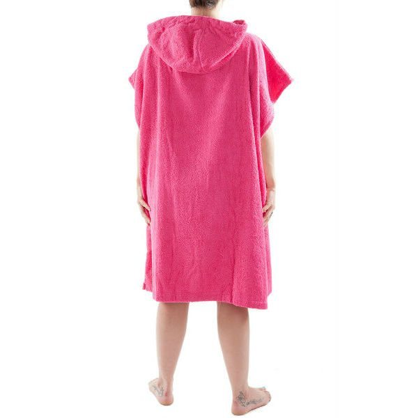 Pink DryRobe Swimming Changing Towel rear