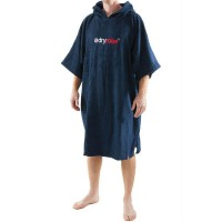 Short Sleeve Towel DryRobe Navy Blue