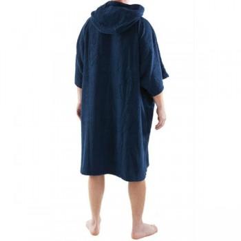 Navy Blue DryRobe Swimming Changing Towel rear