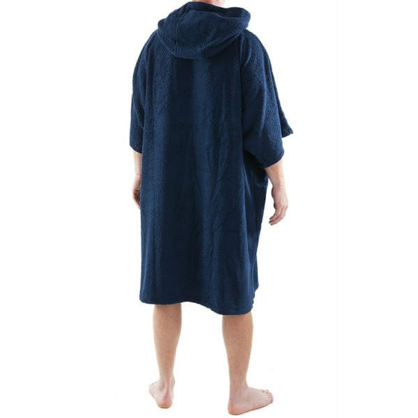 Navy Blue DryRobe Swimming Changing Towel rear