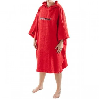 Red DryRobe Swimming Changing Towel