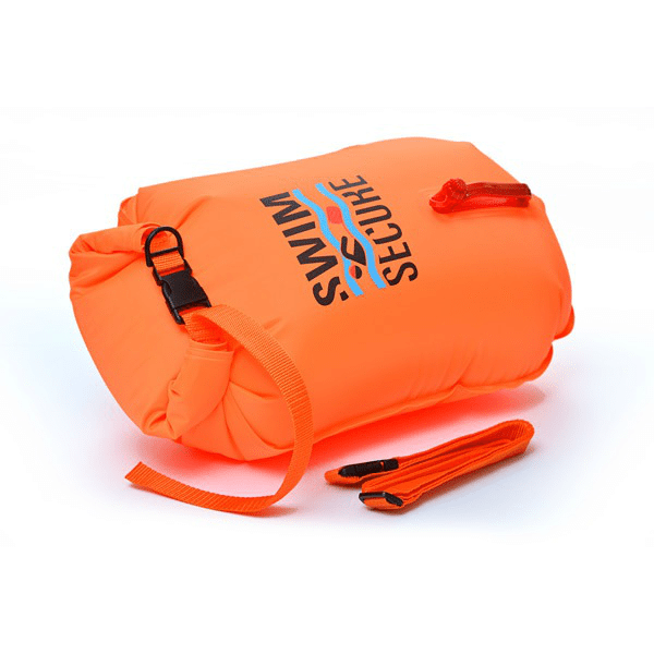 Swim secure dry bag tow float