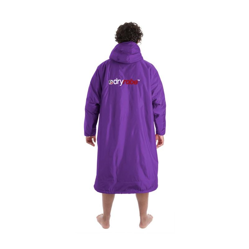 purple grey long sleeve dryrobe back