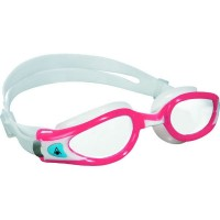 Lady Kaiman Exo Goggle in White-Red