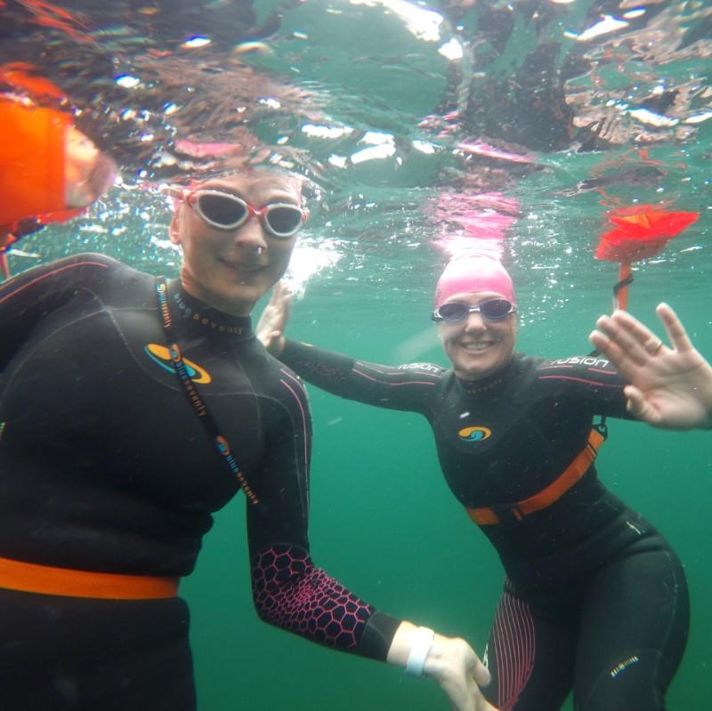 Swimming underwater in Buttermere
