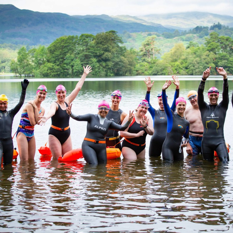 Loughrigg, Lakes and Lilies, yay wild swimming