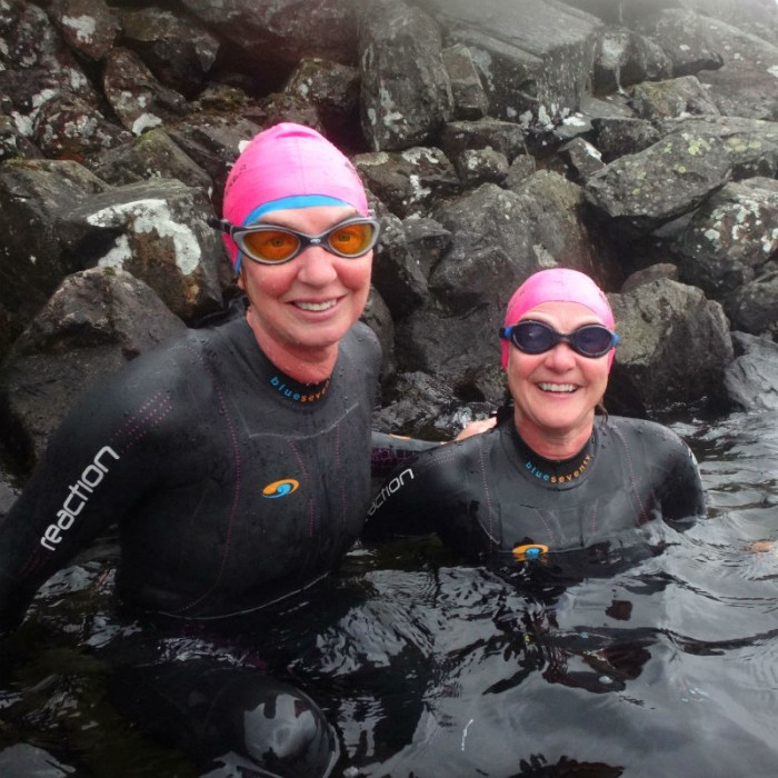 Great Lakes Swim Challenge West Gill Sisters