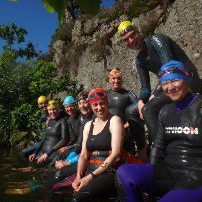 Wild |swimmers in Windermere