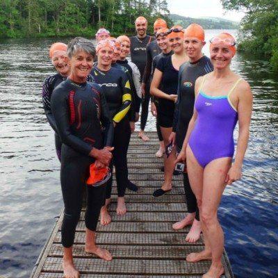 Windermere Wild Swim Adventure Team