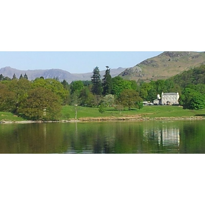 Brathay Hall from Windermere