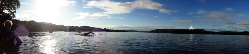 panorama of Windermere