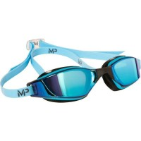 Phelps Xceed Titanium Goggle Blue