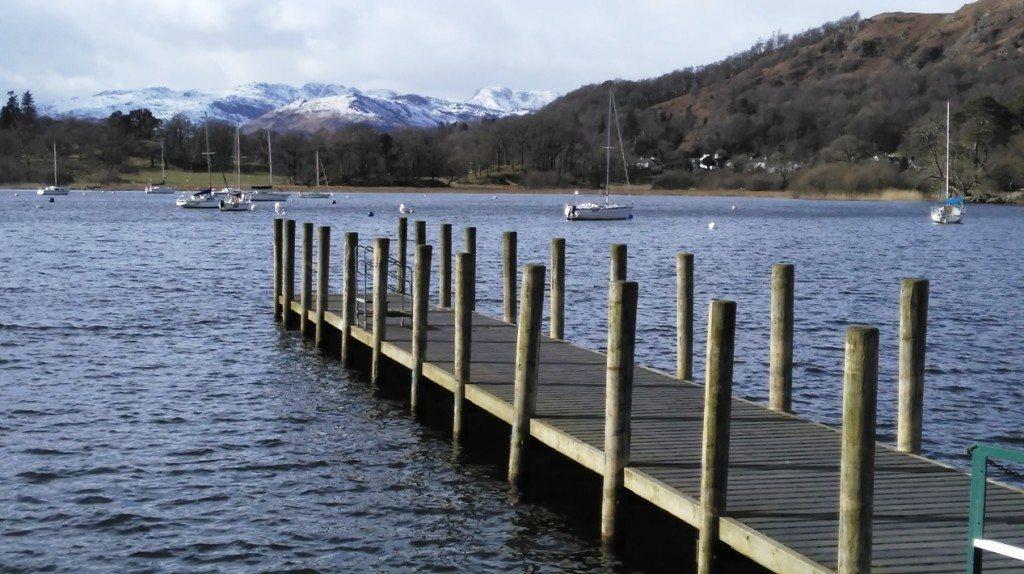 waterhead-view to Langdales