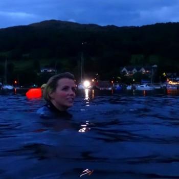 Ellie Night Swimming