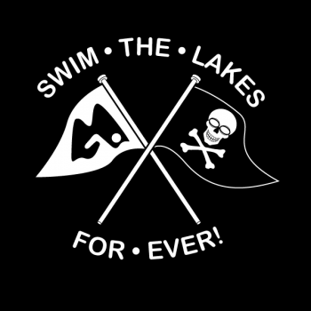 Swim the Lakes Forever flag