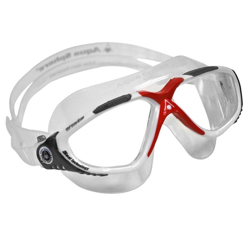 AquaSphere Vista Red White Clear