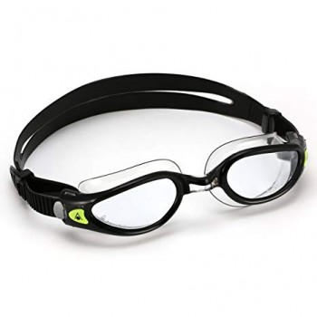 showing the Kaiman Eco clear lens goggle with small fit