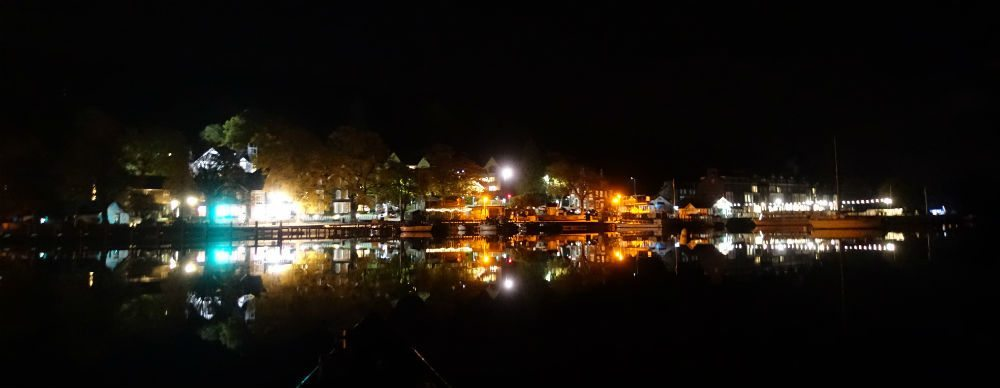 Waterhead by moonlight