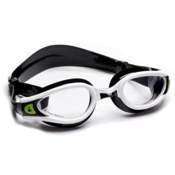 Aqua Sphere Kaiman Exo Goggles clear white black
