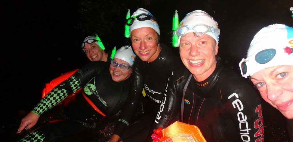Cold Water Night Swimming