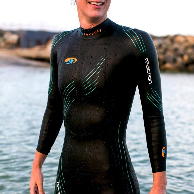 BlueSeventy Reaction wetsuit Womens torso