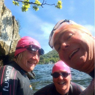 Wild Swimming at Brathay