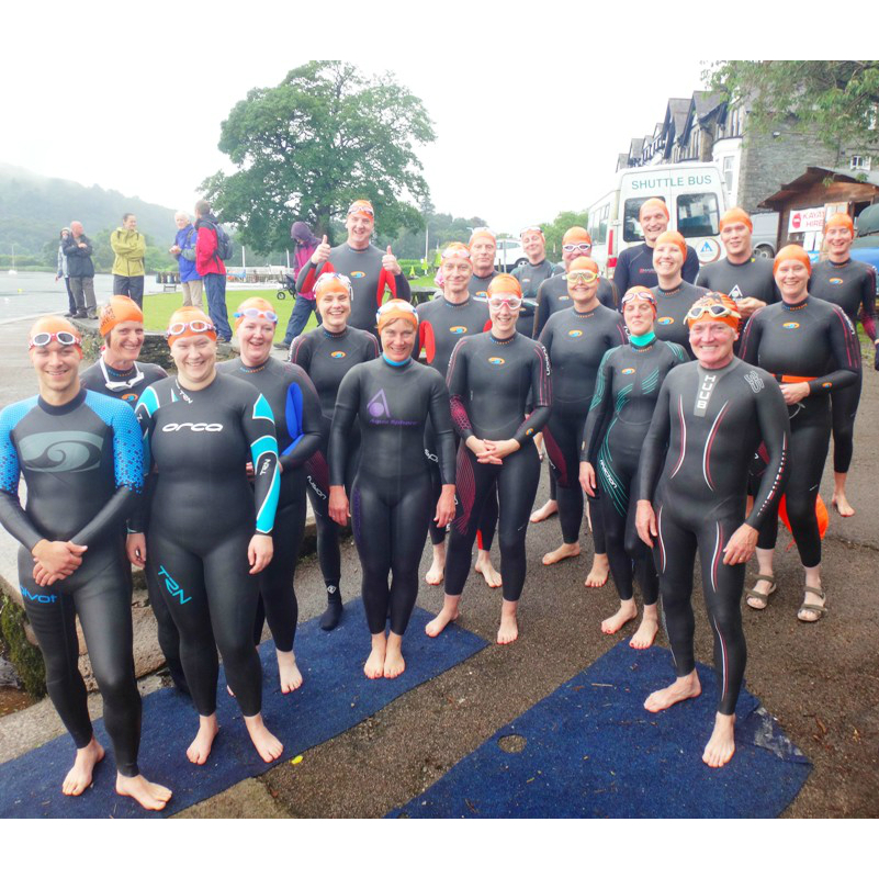 ready to start introduction to open water swimming
