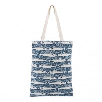 Harbour Blue Fish Beach Bag