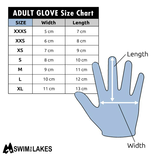 CSkins glove size chart