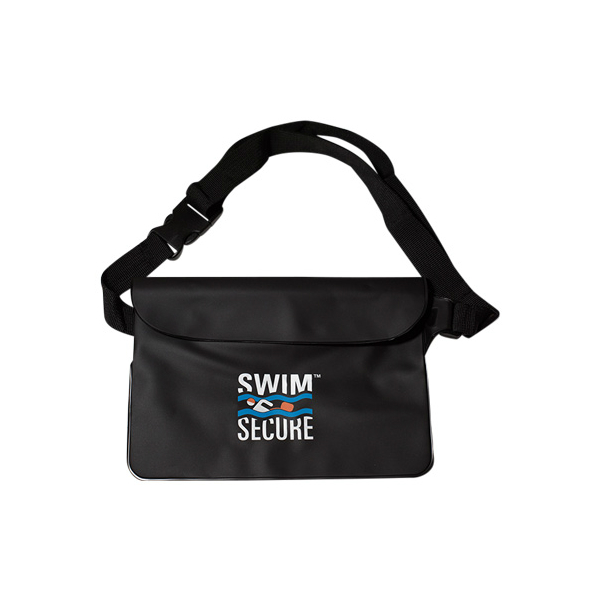 Swim secure bum bag black