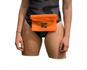swim secure bum bag orange