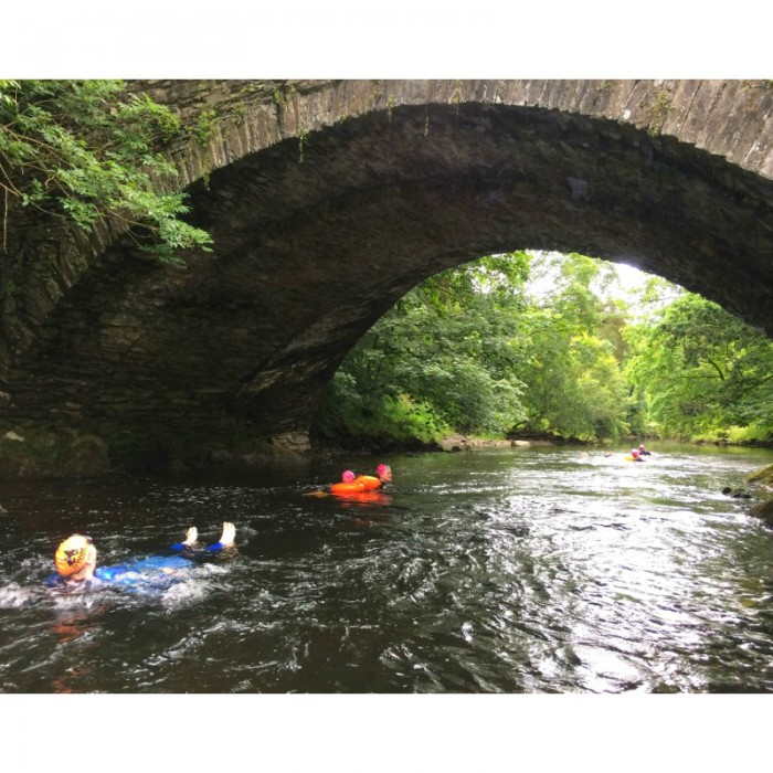 floating down the Brathay