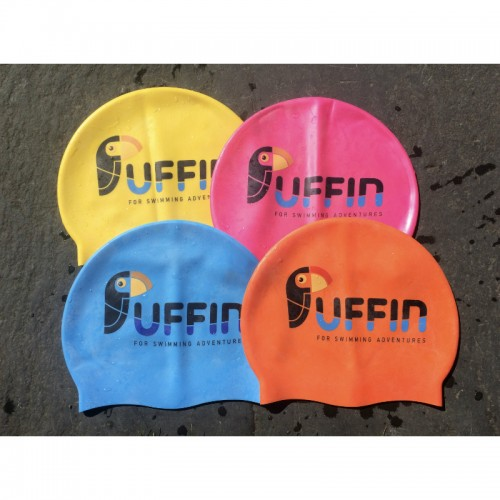 puffin swim caps