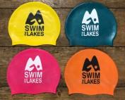 4 silicone swim caps