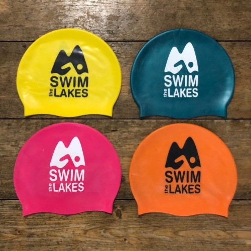 4 silicone swim caps