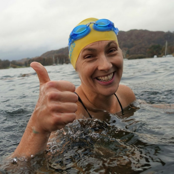 Cold Water Swimming Workshop_Thumbs Up