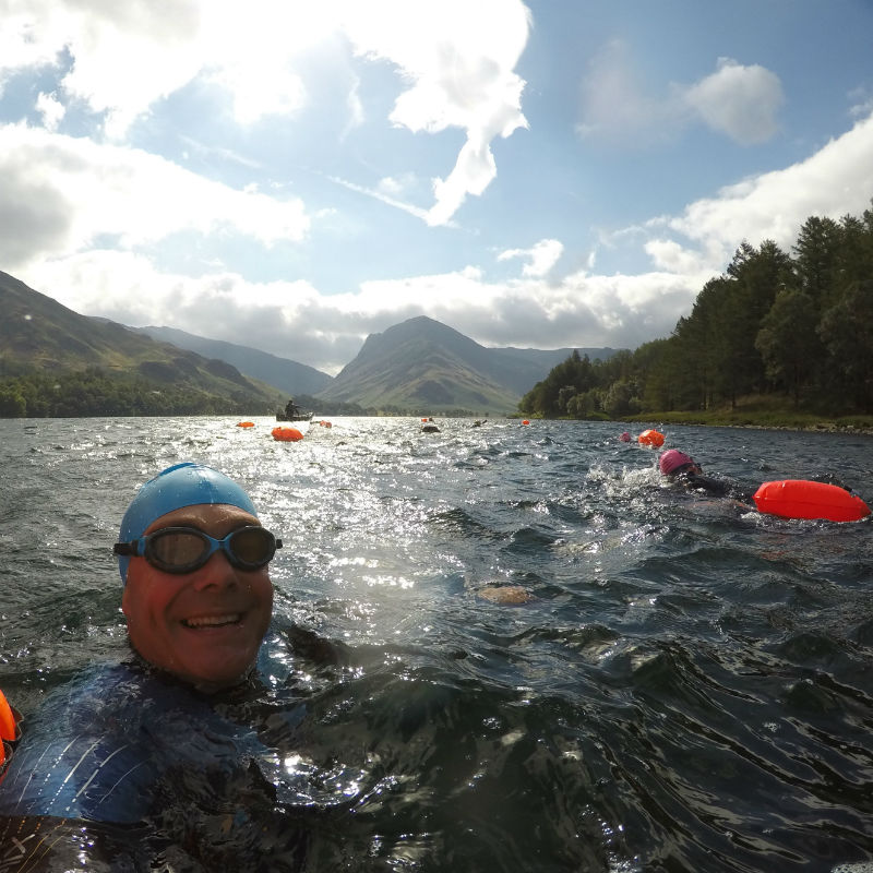 Buttermere Swim Hike