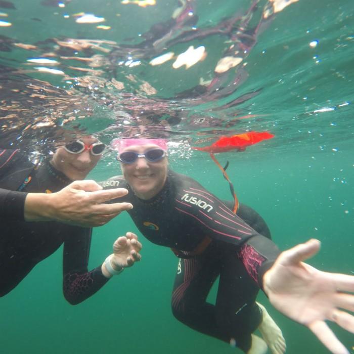 Buttermere Swim Hike Geordie Girls