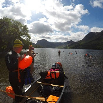 Buttermere Swim Hike Support Boat