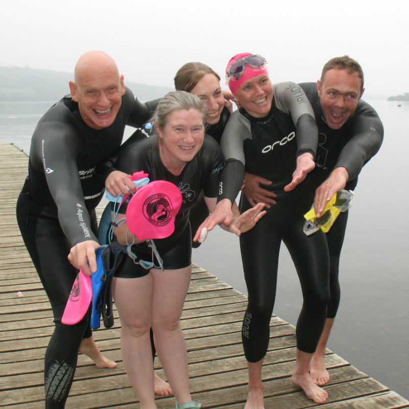 Millerground Mile Swim with Duncan Goodhew