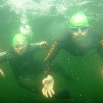 Millerground Mile Swim Underwater