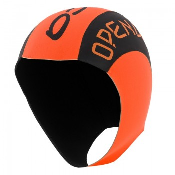 orca hi visibility neoprene swimcap hat