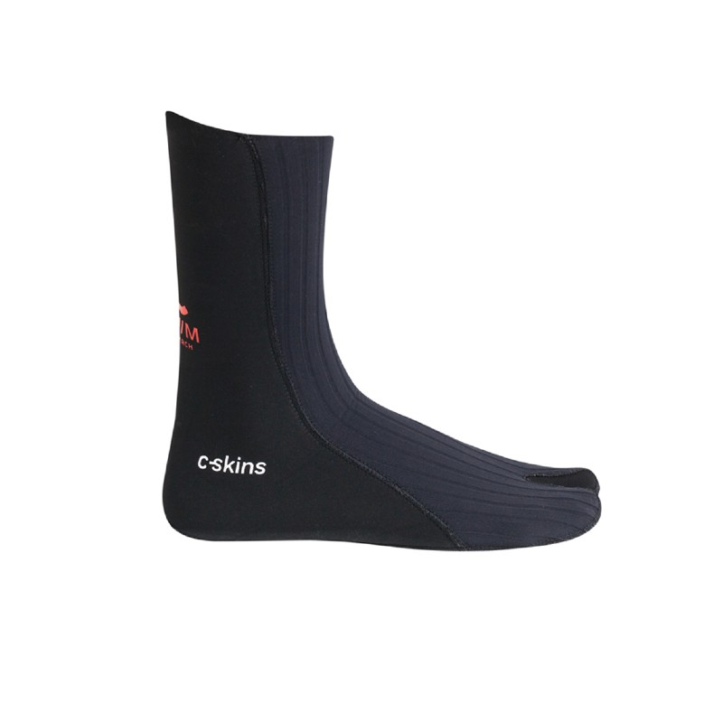 CSkins Swim Research 3mm Swim socks side